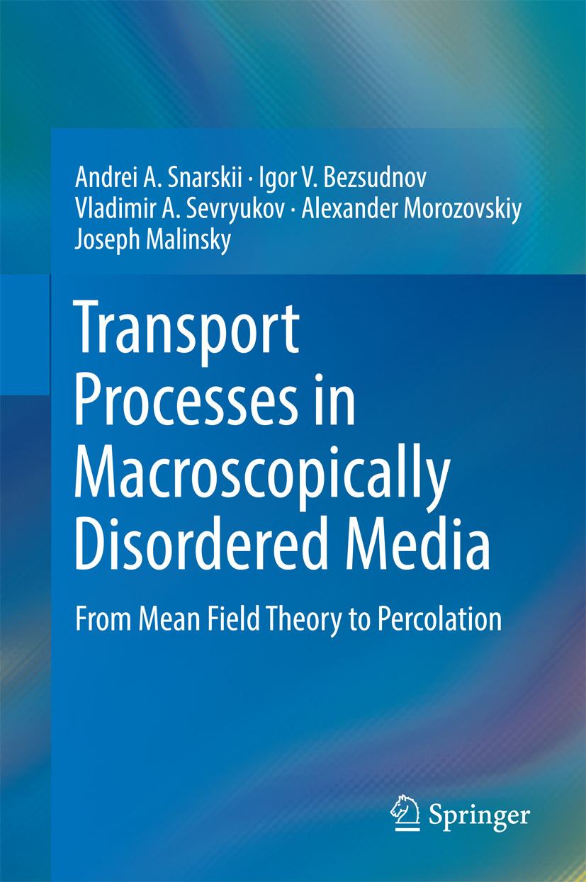 Bezsudnov, Igor V. - Transport Processes in Macroscopically Disordered Media, ebook