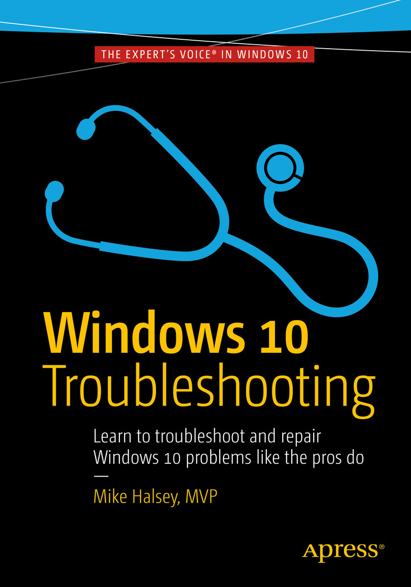 Halsey, Mike - Windows 10 Troubleshooting, ebook