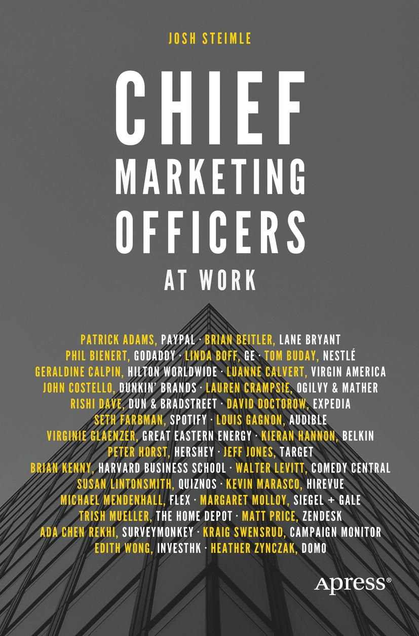Steimle, Josh - Chief Marketing Officers at Work, ebook