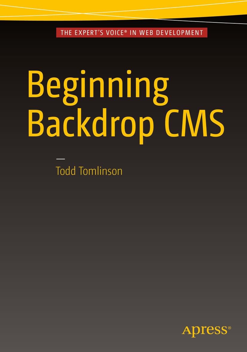 Tomlinson, Todd - Beginning Backdrop CMS, ebook