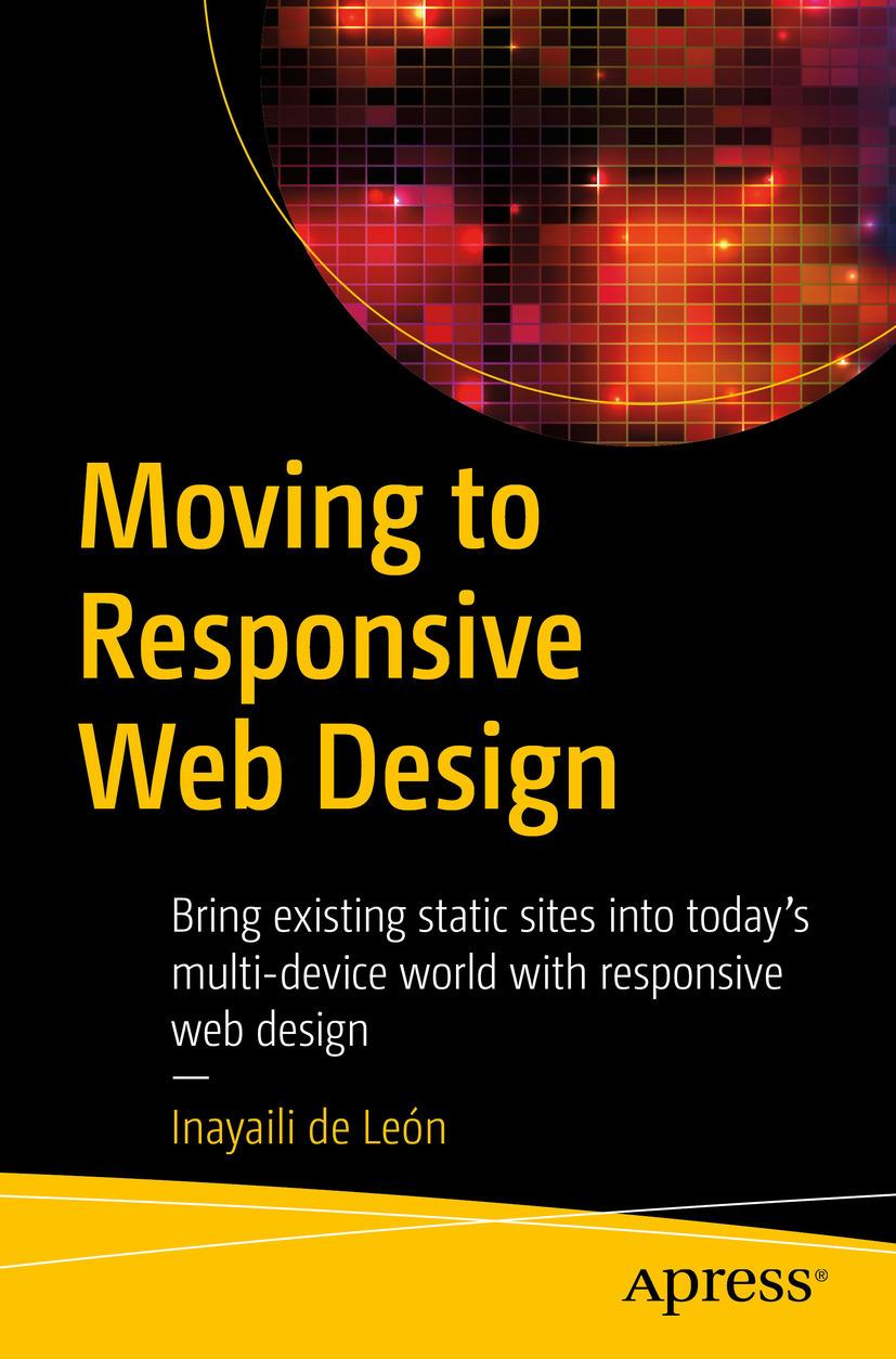León, Inayaili de - Moving to Responsive Web Design, ebook