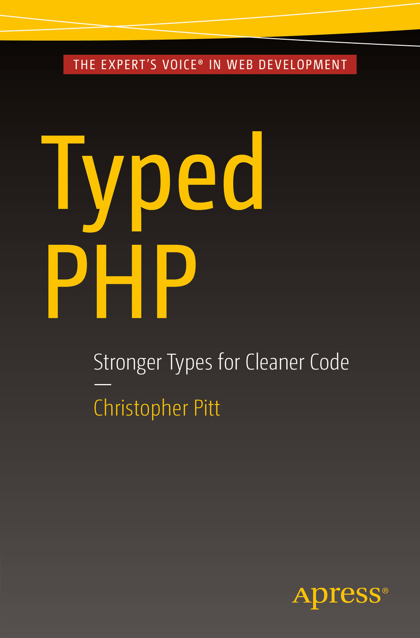 Pitt, Christopher - Typed PHP, ebook