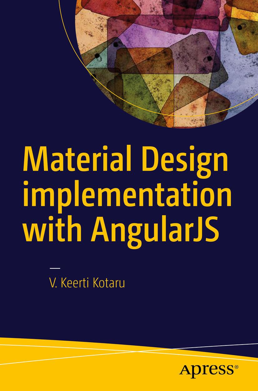 Kotaru, V. Keerti - Material Design implementation with AngularJS, ebook