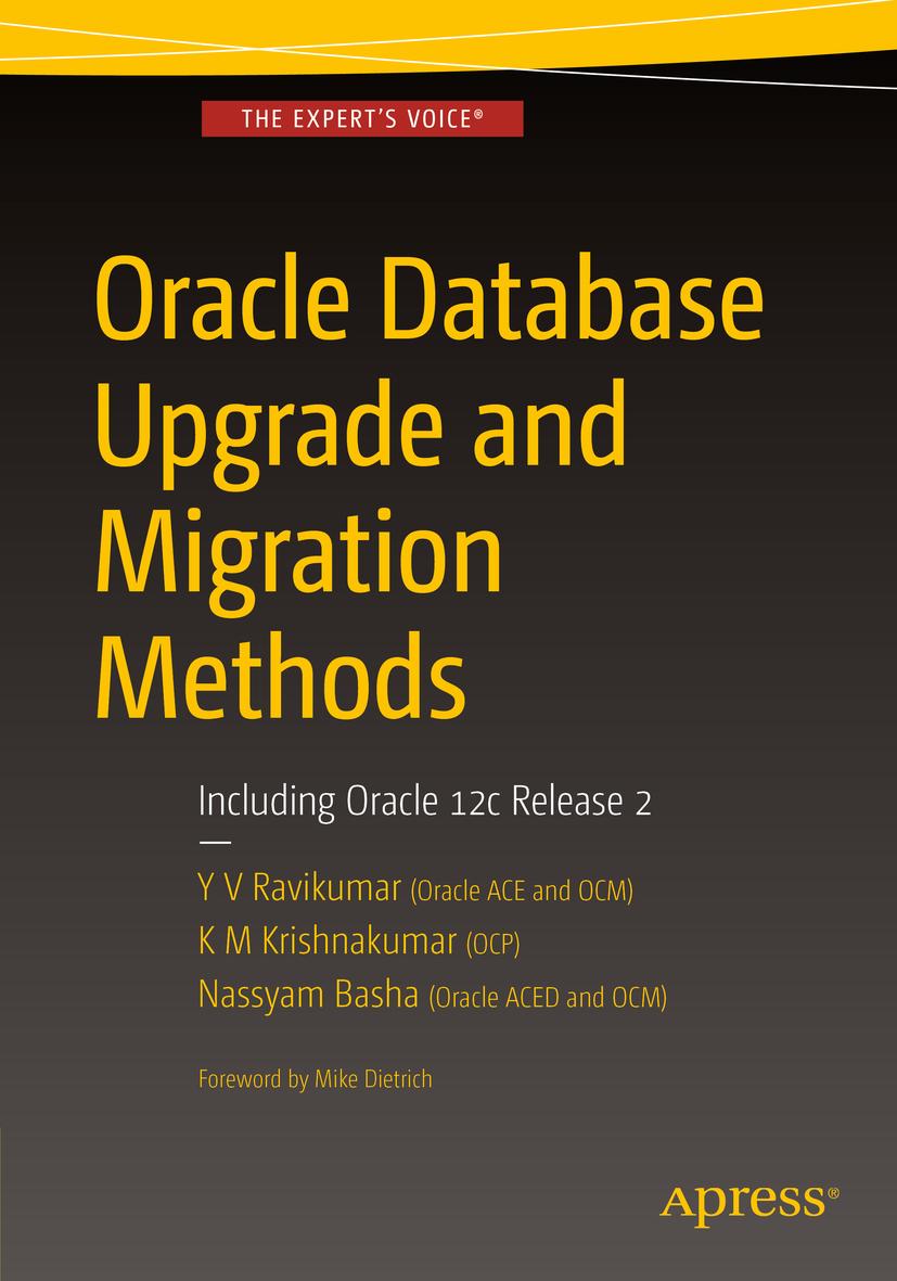Basha, Nassyam - Oracle Database Upgrade and Migration Methods, ebook