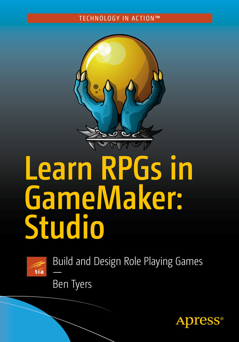 Tyers, Ben - Learn RPGs in GameMaker: Studio, e-bok