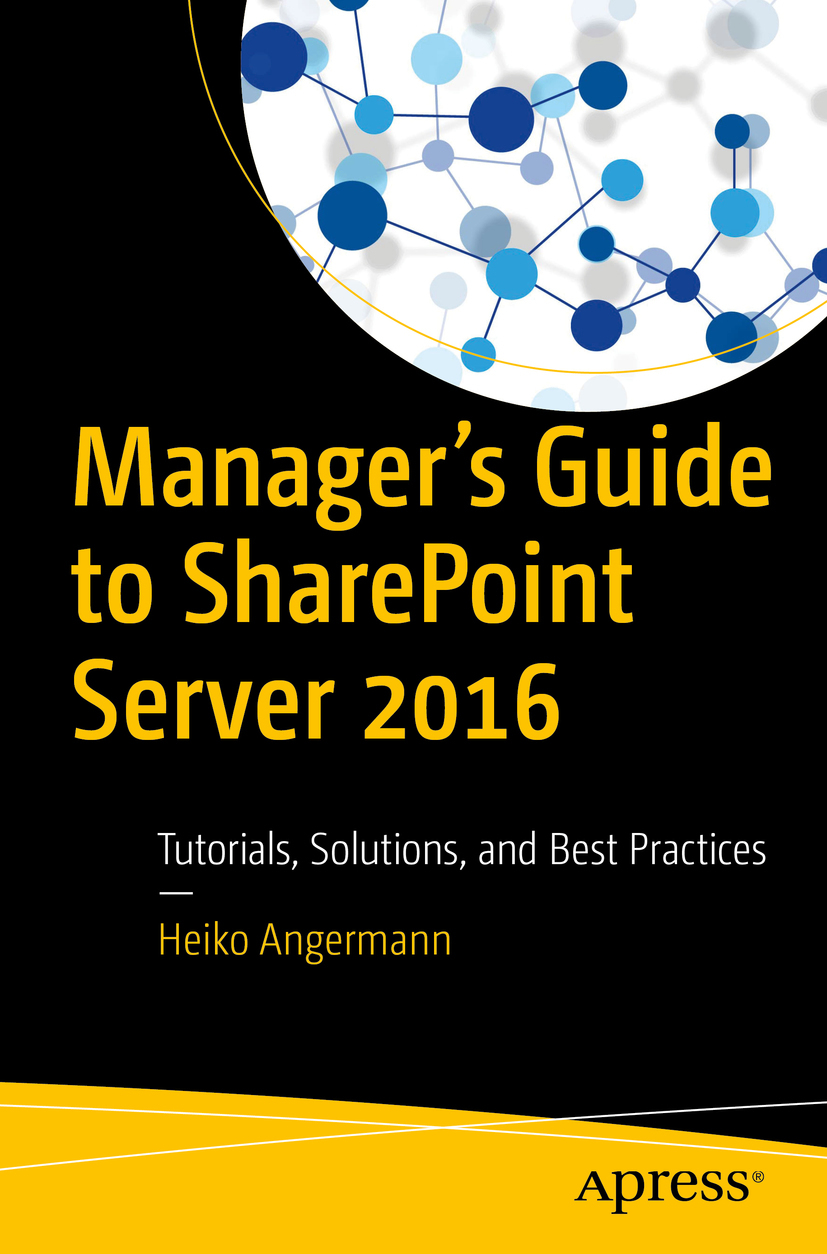 Angermann, Heiko - Manager's Guide to SharePoint Server 2016, ebook