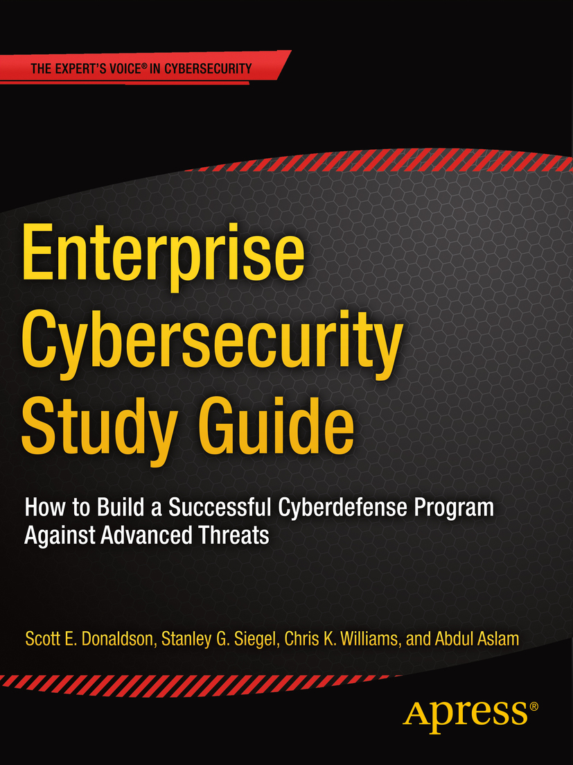 Aslam, Abdul - Enterprise Cybersecurity Study Guide, ebook