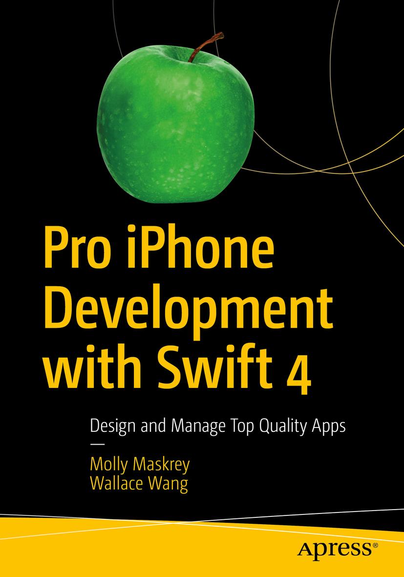 Maskrey, Molly - Pro iPhone Development with Swift 4, ebook