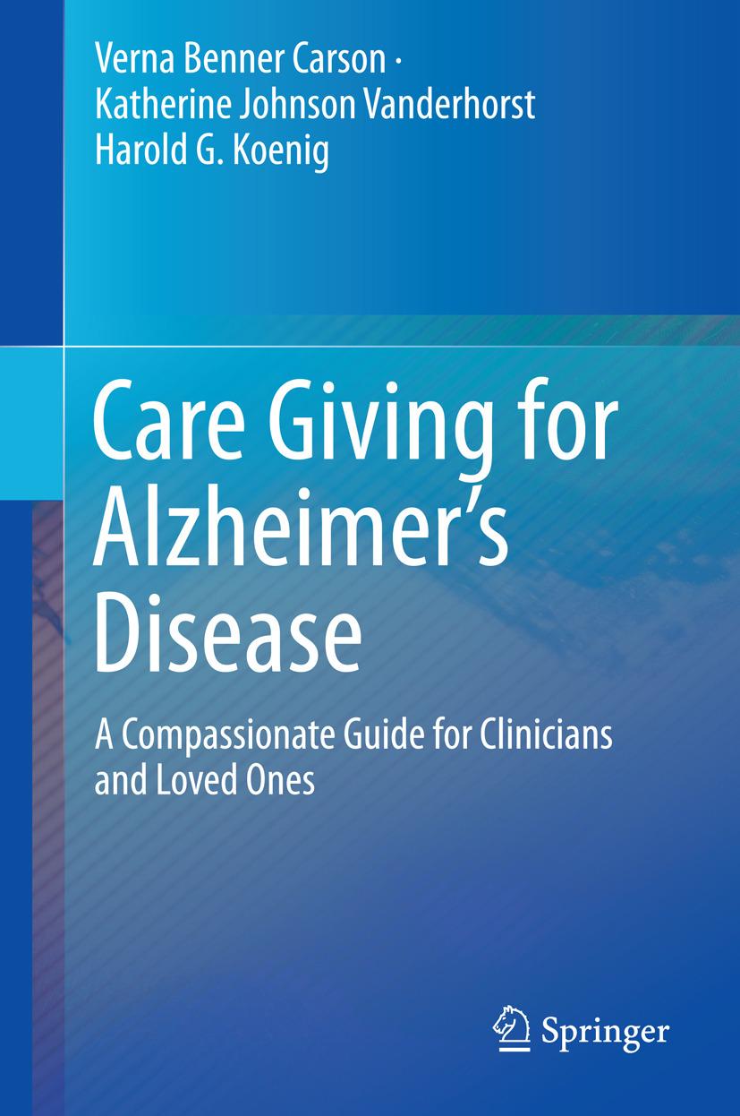 Carson, Verna Benner - Care Giving for Alzheimer's Disease, ebook