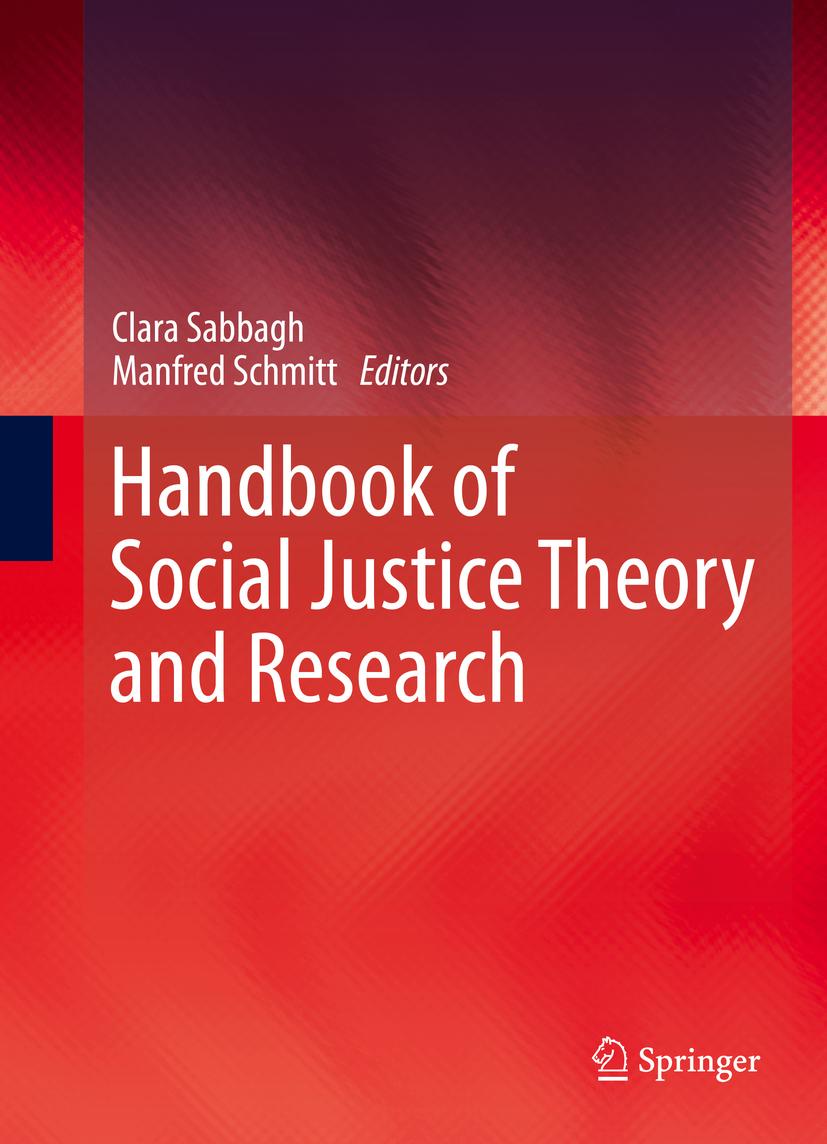 Sabbagh, Clara - Handbook of Social Justice Theory and Research, ebook