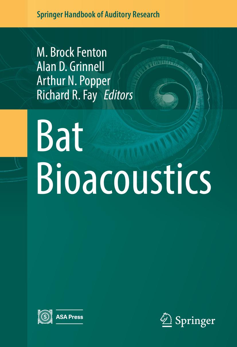 Fay, Richard R. - Bat Bioacoustics, ebook