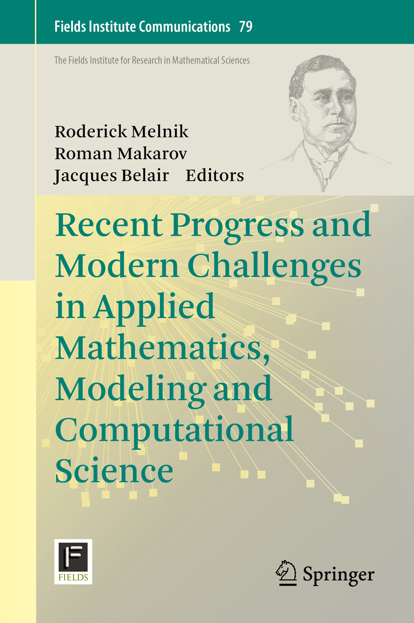Belair, Jacques - Recent Progress and Modern Challenges in Applied Mathematics, Modeling and Computational Science, ebook