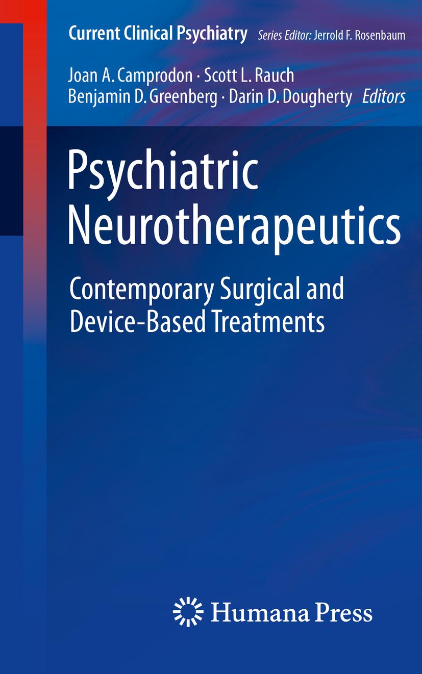 Camprodon, Joan A. - Psychiatric Neurotherapeutics, ebook