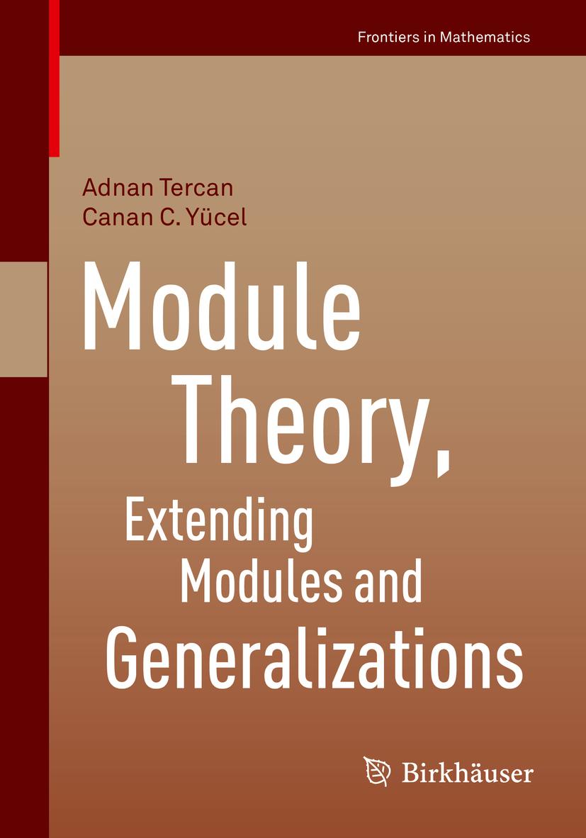 Tercan, Adnan - Module Theory, Extending Modules and Generalizations, ebook
