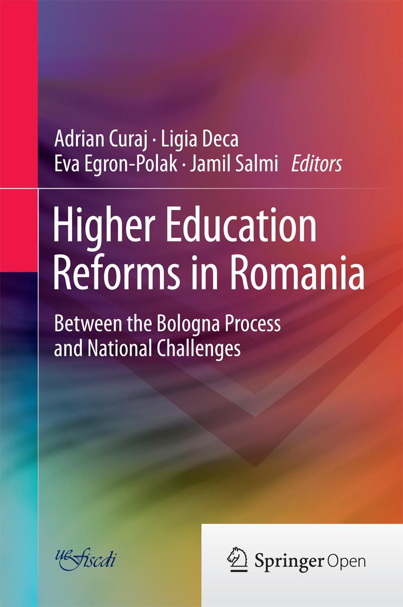 Curaj, Adrian - Higher Education Reforms in Romania, ebook