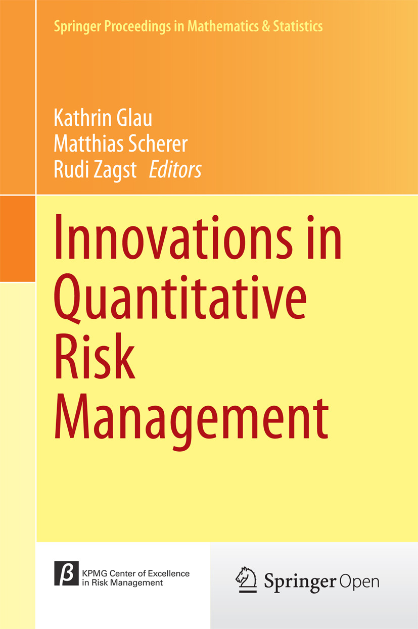 Glau, Kathrin - Innovations in Quantitative Risk Management, ebook