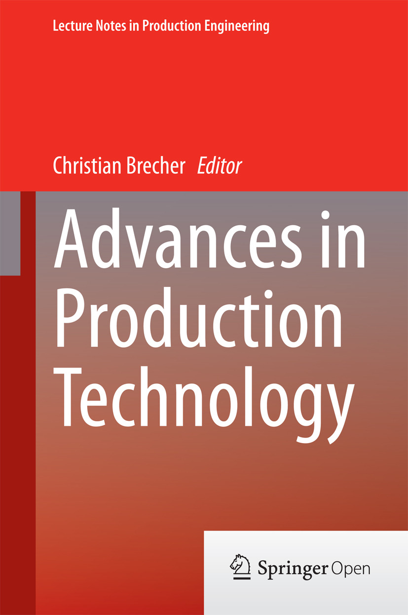 Brecher, Christian - Advances in Production Technology, ebook