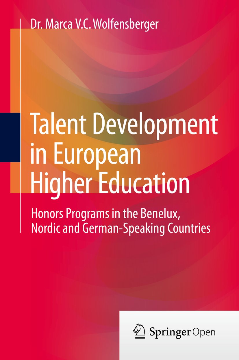 Wolfensberger, Dr. Marca V.C. - Talent Development in European Higher Education, ebook