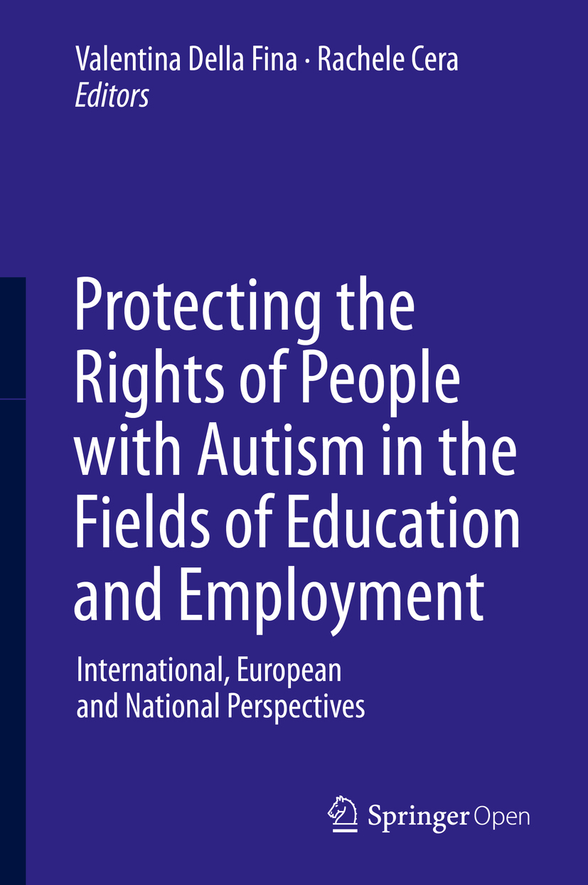Cera, Rachele - Protecting the Rights of People with Autism in the Fields of Education and Employment, e-kirja