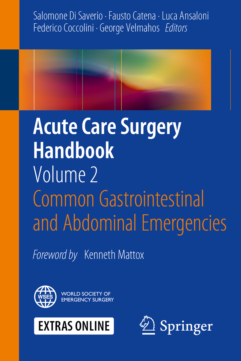 Ansaloni, Luca - Acute Care Surgery Handbook, ebook
