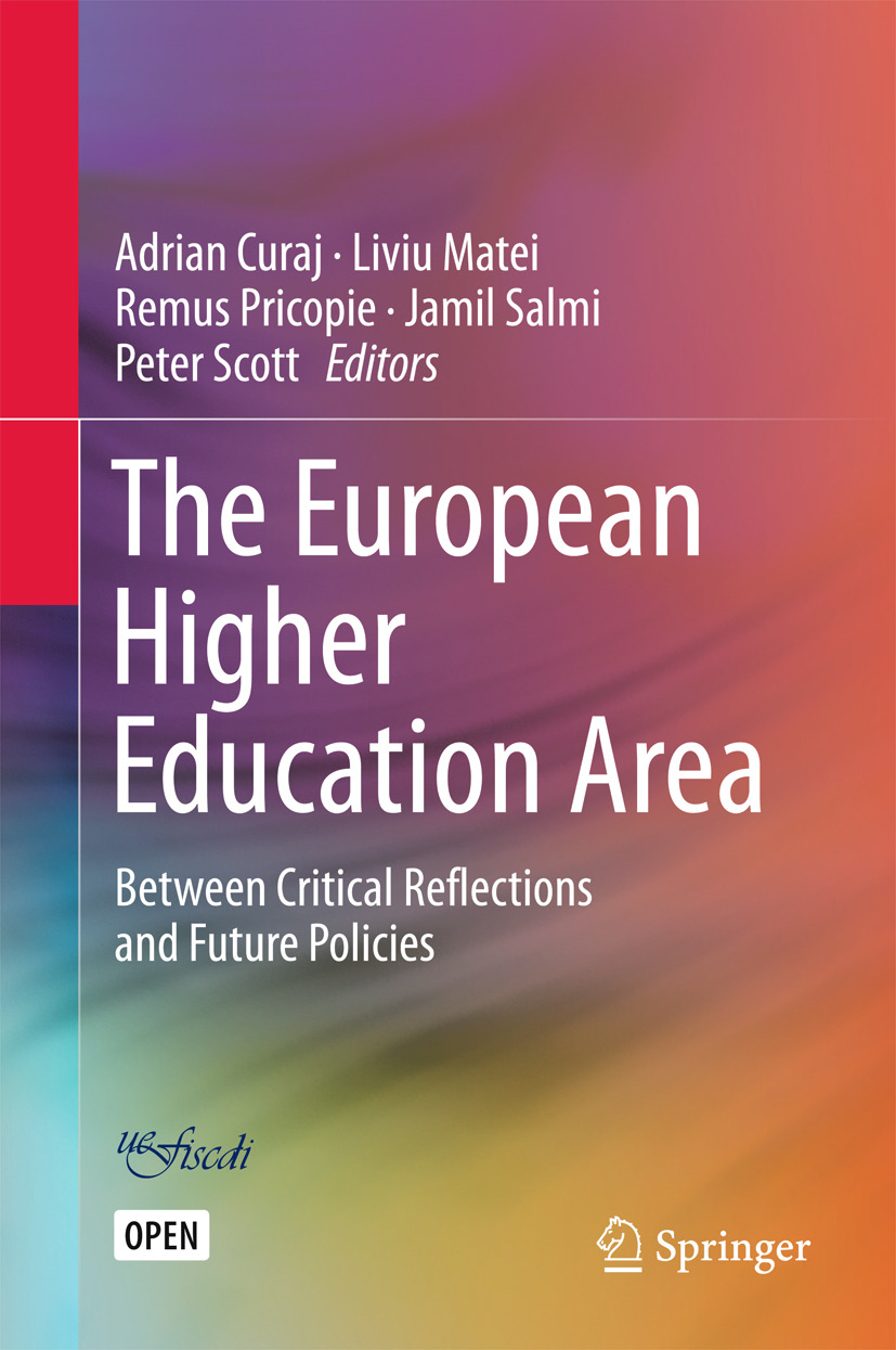 Curaj, Adrian - The European Higher Education Area, ebook