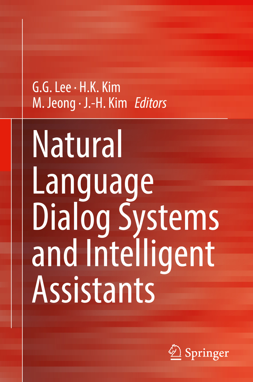 Jeong, M. - Natural Language Dialog Systems and Intelligent Assistants, ebook
