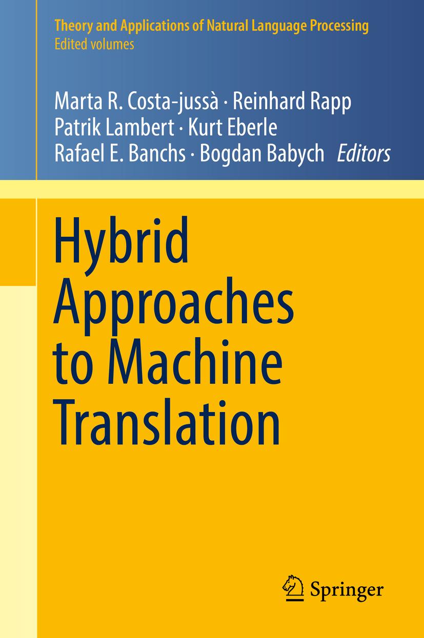 Babych, Bogdan - Hybrid Approaches to Machine Translation, ebook
