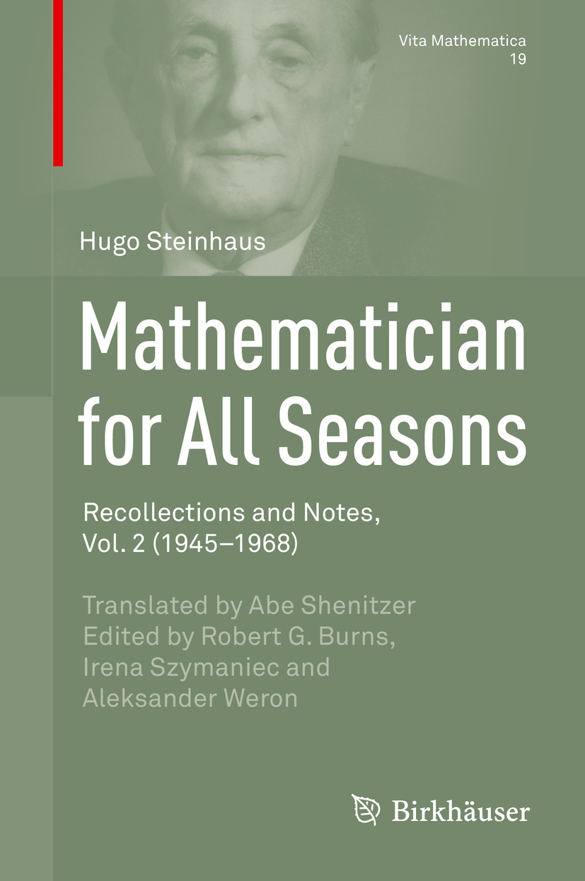 Steinhaus, Hugo - Mathematician for All Seasons, ebook