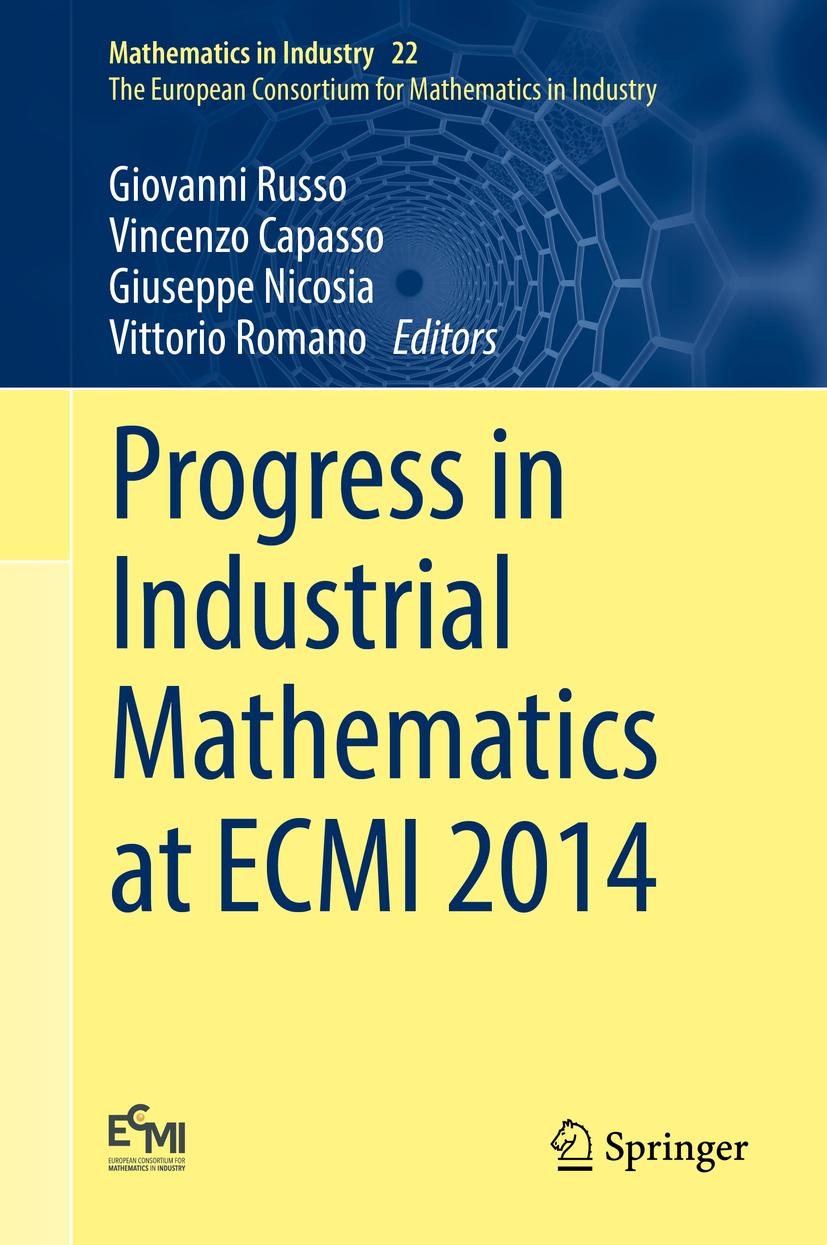 Capasso, Vincenzo - Progress in Industrial Mathematics at ECMI 2014, ebook