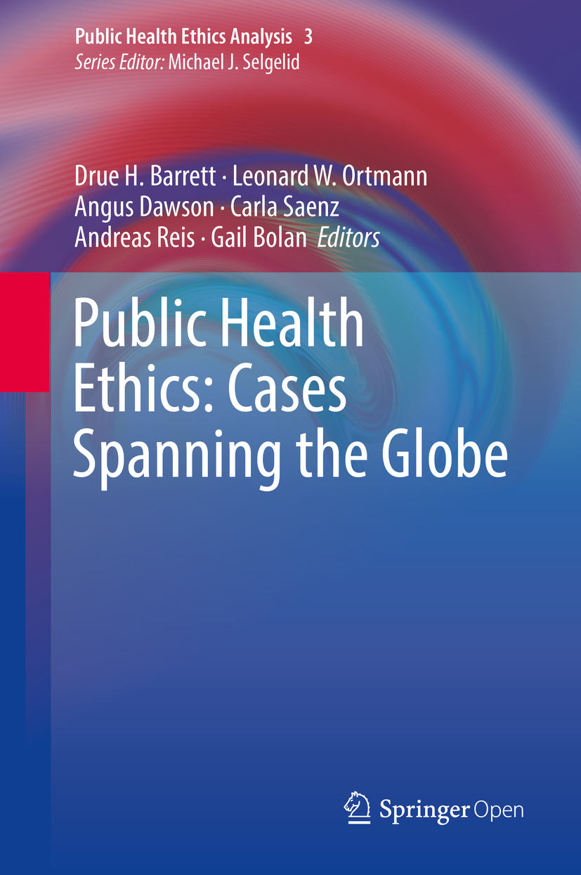 Barrett, Drue H. - Public Health Ethics: Cases Spanning the Globe, ebook