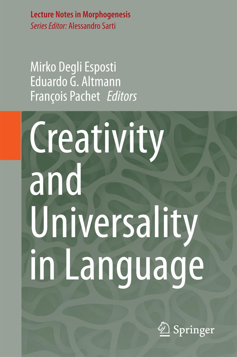 Altmann, Eduardo G. - Creativity and Universality in Language, ebook