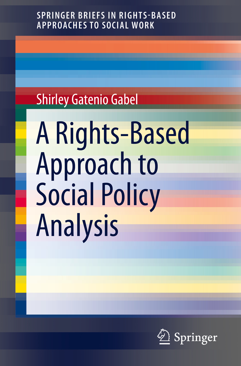 Gabel, Shirley Gatenio - A Rights-Based Approach to Social Policy Analysis, ebook