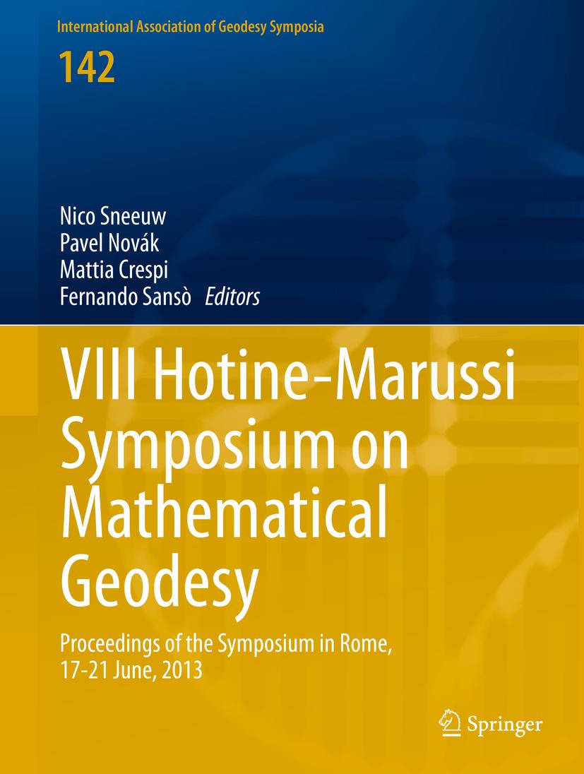 Crespi, Mattia - VIII Hotine-Marussi Symposium on Mathematical Geodesy, ebook