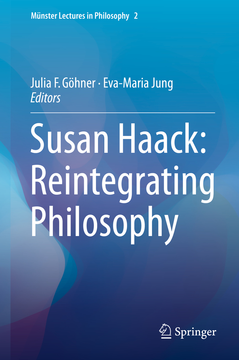 Göhner, Julia F. - Susan Haack: Reintegrating Philosophy, ebook