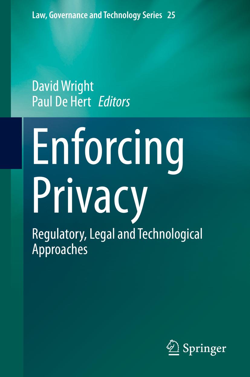 Hert, Paul De - Enforcing Privacy, ebook