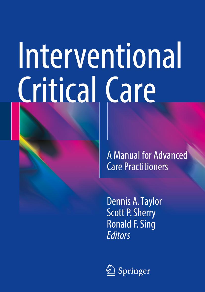 Sherry, Scott P. - Interventional Critical Care, e-kirja