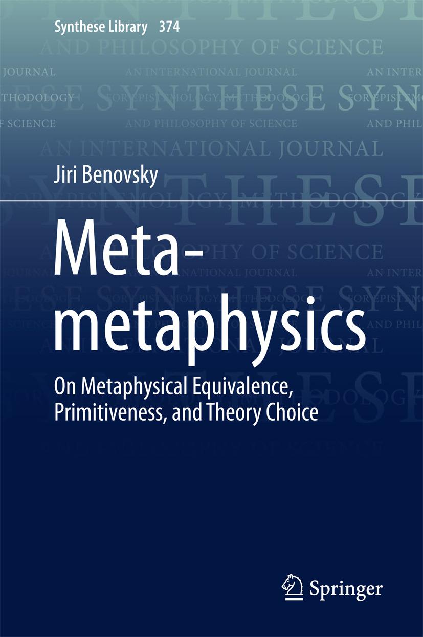Benovsky, Jiri - Meta-metaphysics, ebook