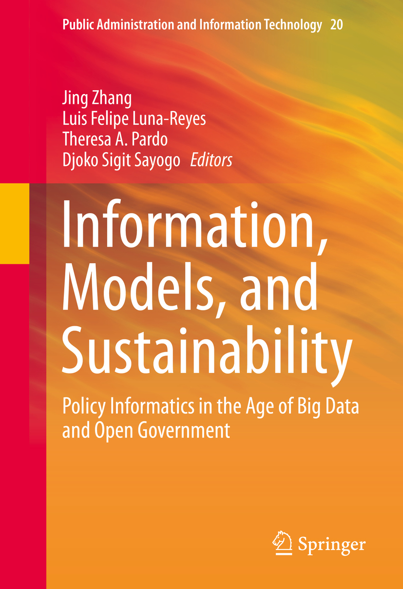 Luna-Reyes, Luis Felipe - Information, Models, and Sustainability, e-kirja