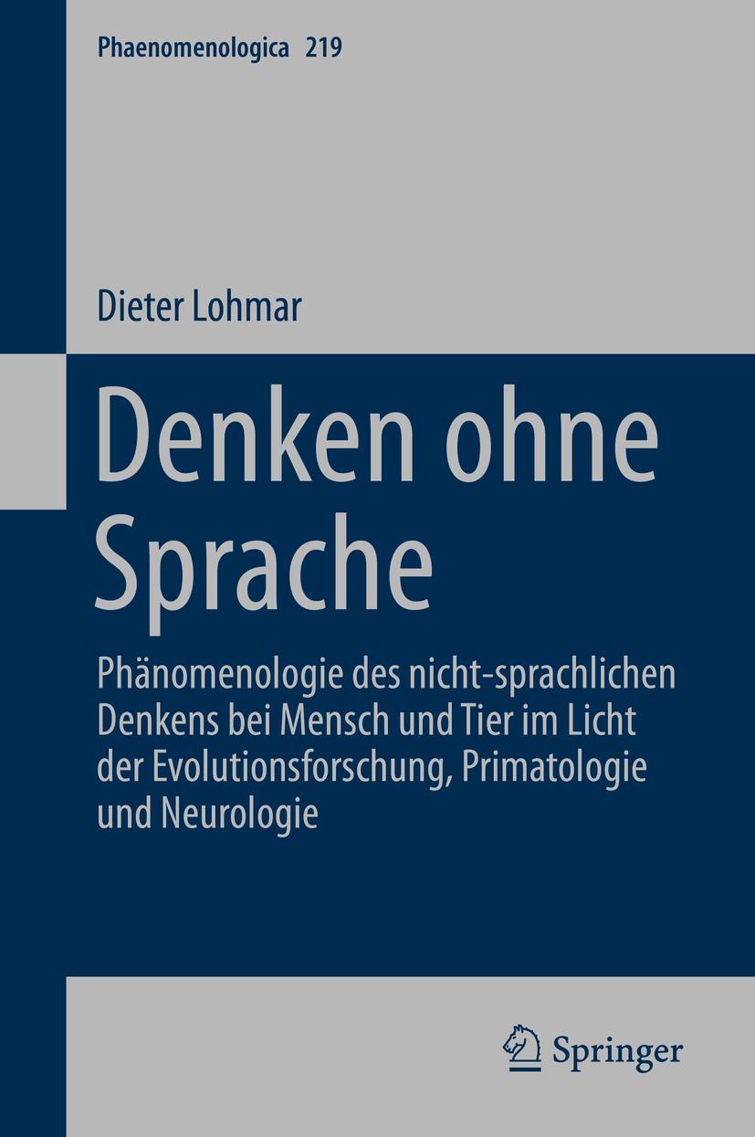 Lohmar, Dieter - Denken ohne Sprache, ebook