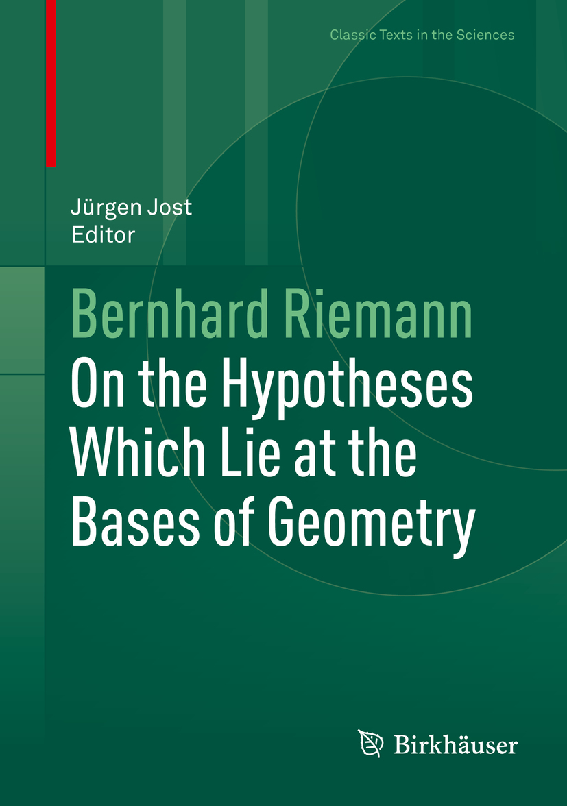 Riemann, Bernhard - On the Hypotheses Which Lie at the Bases of Geometry, ebook