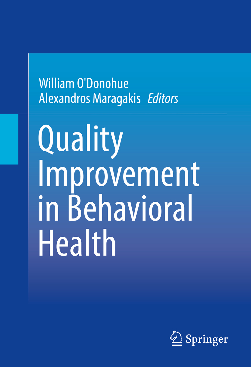 Maragakis, Alexandros - Quality Improvement in Behavioral Health, ebook