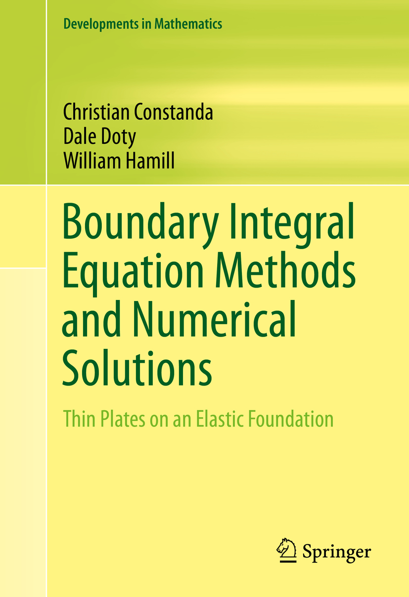Constanda, Christian - Boundary Integral Equation Methods and Numerical Solutions, ebook