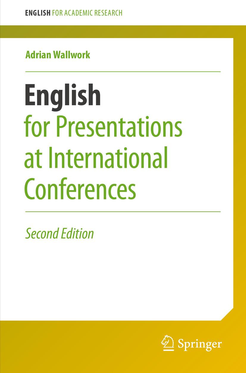 Wallwork, Adrian - English for Presentations at International Conferences, ebook