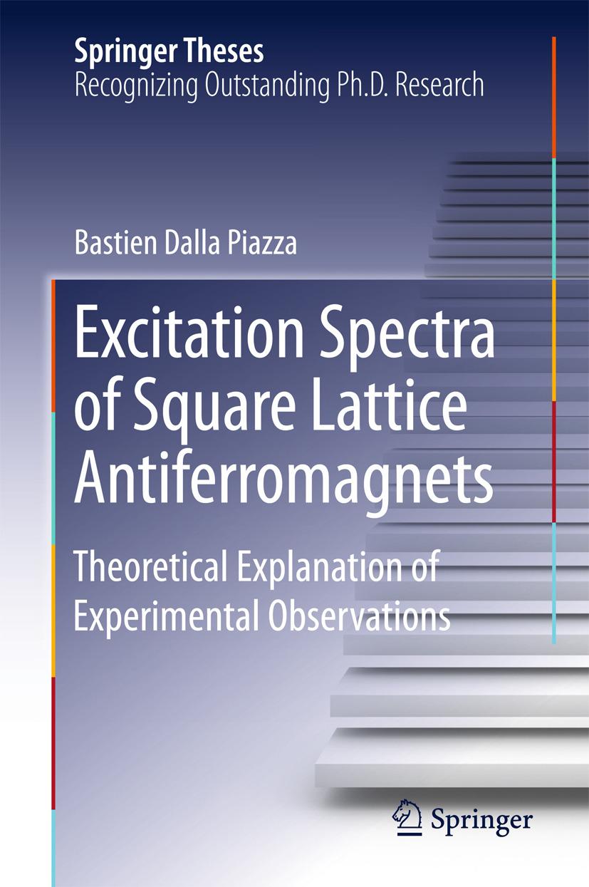 Piazza, Bastien Dalla - Excitation Spectra of Square Lattice Antiferromagnets, ebook