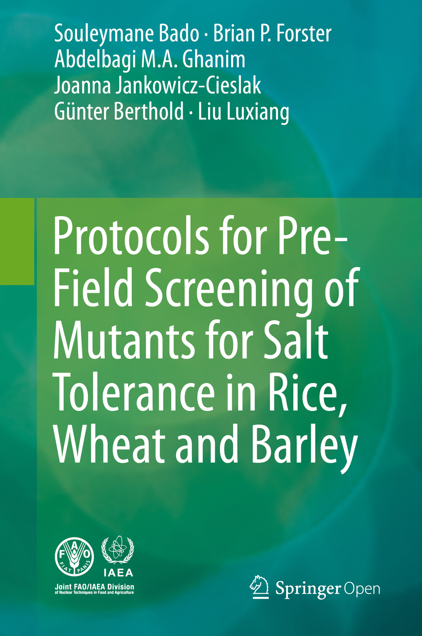 Bado, Souleymane - Protocols for Pre-Field Screening of Mutants for Salt Tolerance in Rice, Wheat and Barley, ebook