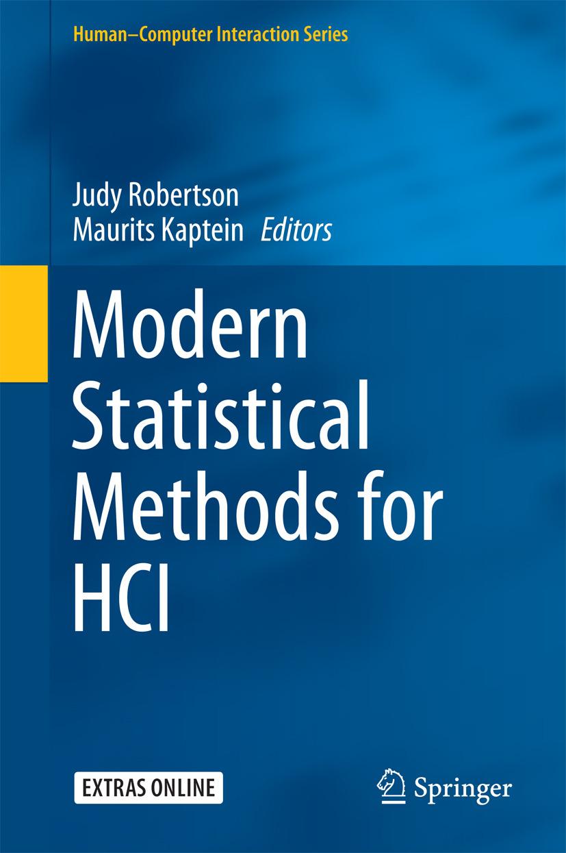 Kaptein, Maurits - Modern Statistical Methods for HCI, ebook