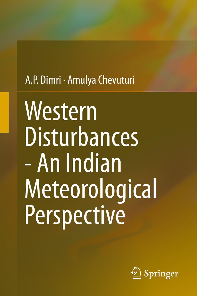 Chevuturi, Amulya - Western Disturbances - An Indian Meteorological Perspective, ebook