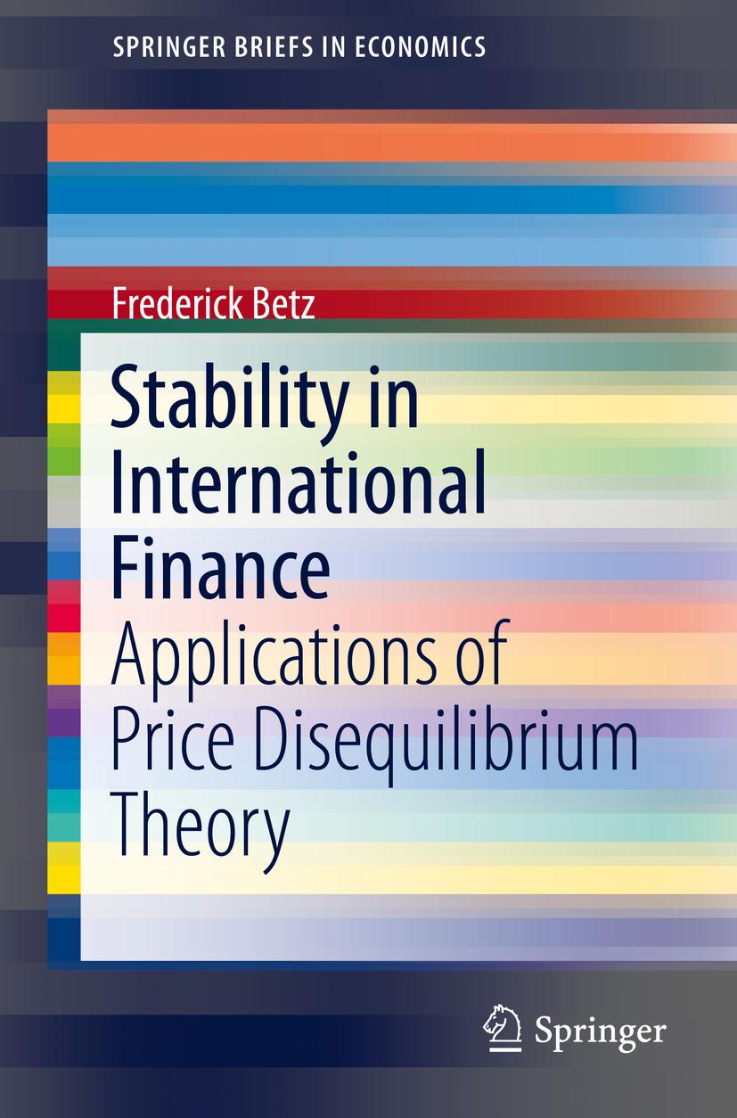 Betz, Frederick - Stability in International Finance, ebook