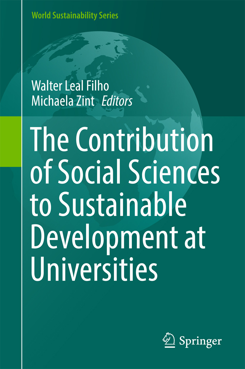 Filho, Walter Leal - The Contribution of Social Sciences to Sustainable Development at Universities, e-kirja