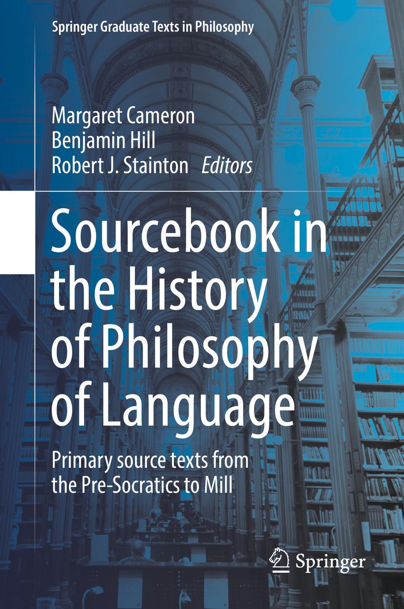 Cameron, Margaret - Sourcebook in the History of Philosophy of Language, ebook